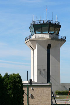 johnstown airport control tower, pennsylvania