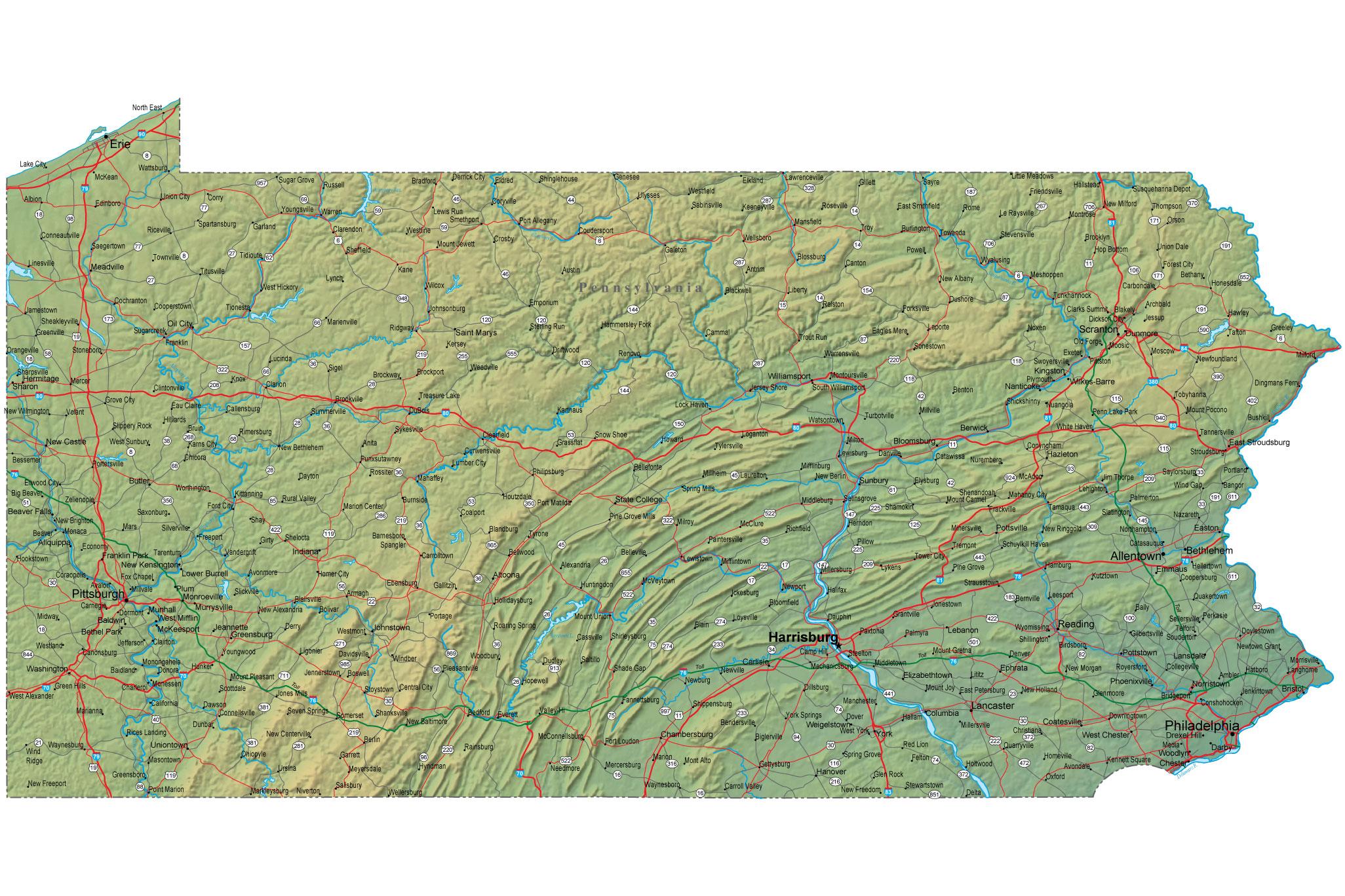 Pennsylvania - Sights